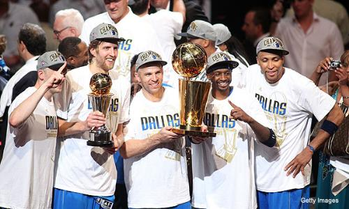 They diid it! - The Dallas Mavericks finally won their first NBA Championship on Sunday over the overraided Miami Heat!