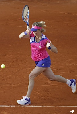 Kim Clijsters - She played in the 2011 French Open.