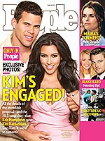 Kim is engaged! - A few weeks ago Kim Kardashian got engaged to her boyfreind Chris Humphries.