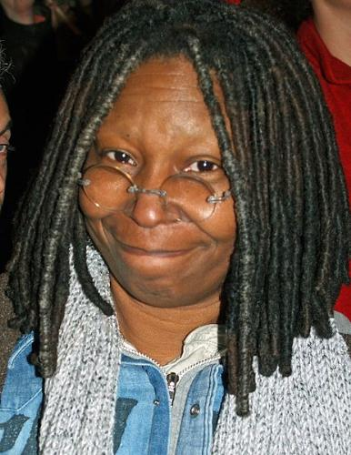 Whoopi Goldberg - Actress and one of the women of 'The View'.