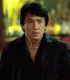 Jackie Chan - an excellent actor in english movie.