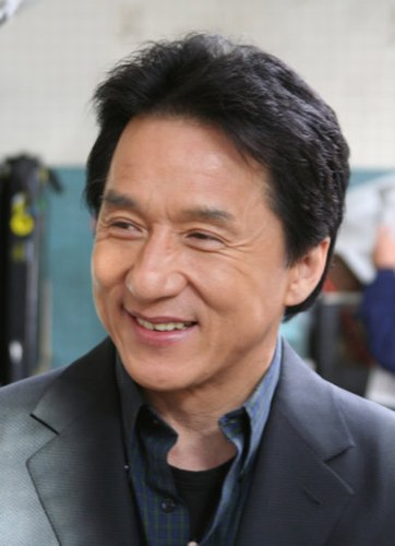 Jackie Chan - a very good comedy person.