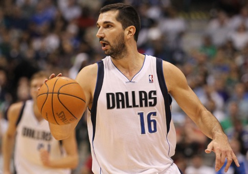 Peja Stojakovic - He played with the Dallas Mavericks most of the season and won an NBA championship with the Mavs! It was long over do for Peja!