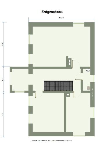 Floor plan in green design - This is 2D floor plan made in design sun.