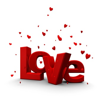 love word - an image of the word love for this category
