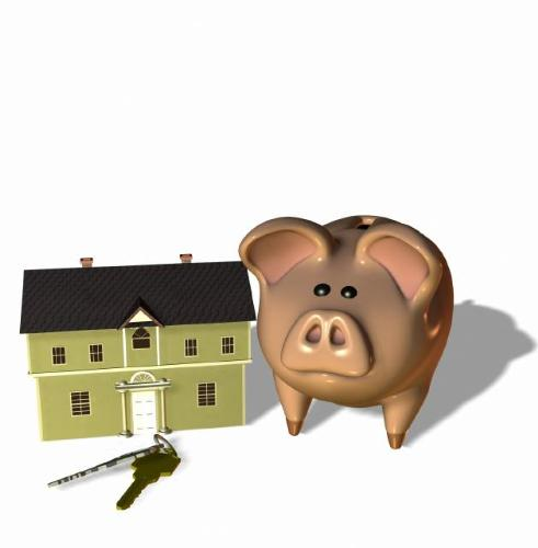 home and piggy bank - an image of a home and piggy bank for this category