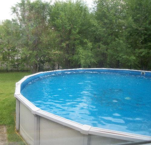 Above ground pool - My above ground pool
