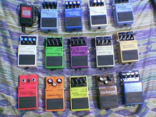 Pedals - A collection of stomps.
