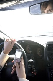 driving and texting/ calling, BIG NO! - you might wanna stop driving before calling or texting. Just to be safe!