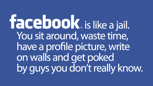 Too Much Facebook Publicity Is Dangerous - Posting on your wall about your own coolness is self-praise. Why don't you wait for your friends to praise you?