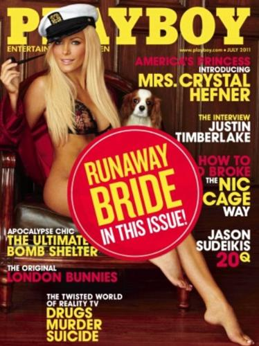 Runaway Bride - The one that backed out on Hugh Hefner