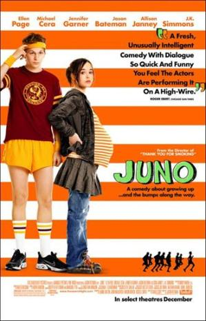 Juno - I never seen the movie. I think I would not want to because I gave my son up for adoption 21 years ago!