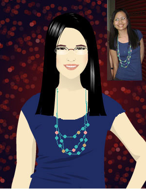 Cartoon me - Hello! I posted this photo because you might be wondering why I chose my Profile pic to be in a cartoon style and would probably think it's not me. So here. They're not really identical but it is a good copy :)