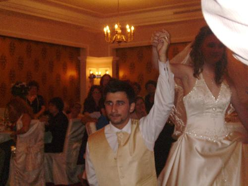 Husband and wife dancing - these are my 2 friends that got wedded last sunday and are now in their honeymoon.