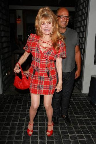 Charo - Charo looks good for 60 if that is her age! If not she is 70! Cute dress,though!