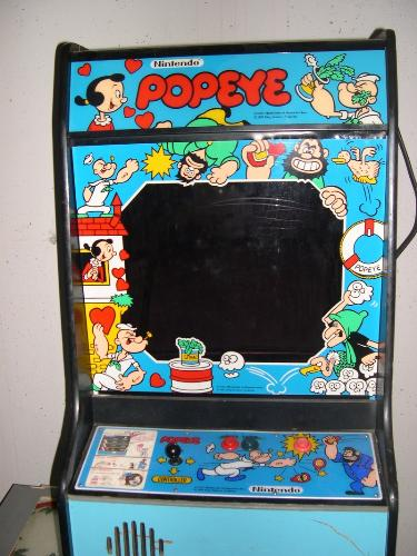 Popeye Arcade - The old school Popeye arcade game.