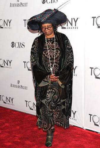Whooping Goldberg - I have no idea why she wore this get up! Words can't describe it!