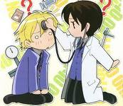 Ouran Kouko Host Club - playing doctor