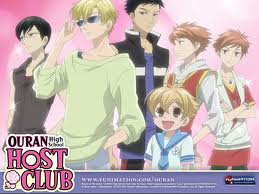Ouran Kouko Host Club - hosts