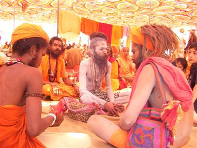 Sadhus of India - These cheats of India pose as divinely connected and keep on cheating innocent, rather foolish, people.