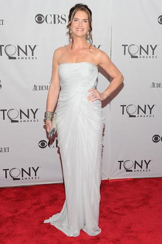 Brooke Shields - Brooke Shields at this years Tonys. She looks gorgeous!