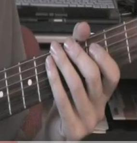 Lead guitar - Playing the guitar