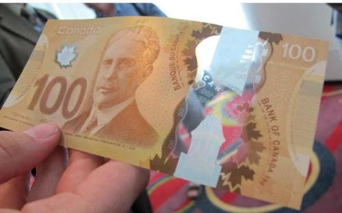 Canadian Plastic Money - No more paper, YAY for money!!
