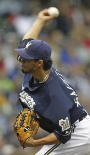 Yovanni Gallardo - The Milwaukee Brewers young and talented pitcher!