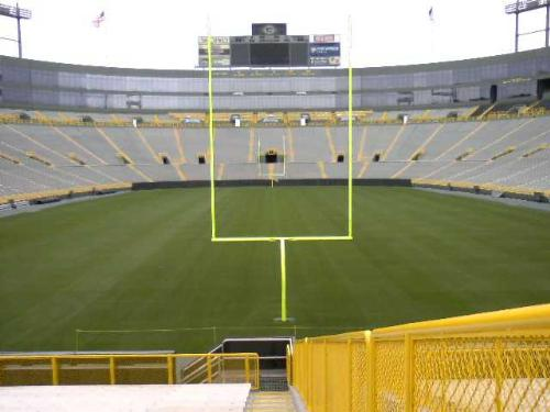 Lambeau Field - The best stadium in the NFL! Yes!