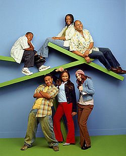 Cast of That's so Raven - There was Raven.Her best friends Eddie and Chelsea.Her mom,dad and brother Cory.
