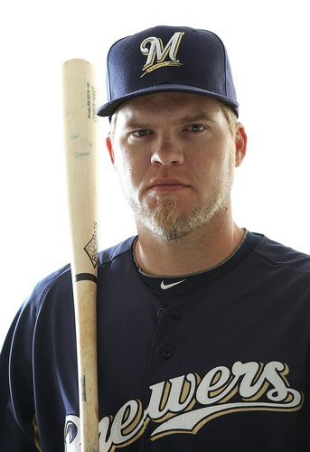 Cory Hart - The Milwaukee Brewers right fielder.