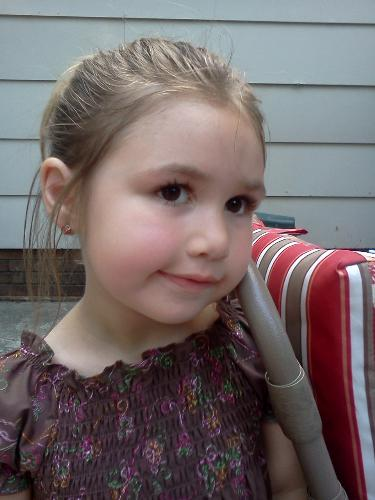 My Oldest Daughter - This is my oldest daughter. She's 5 years old.