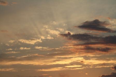Sunset - Yellow and orange sunset