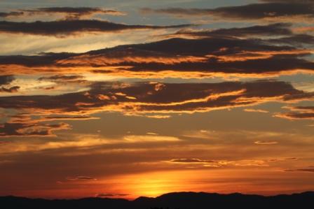 Sunset - Norwegian sunset
