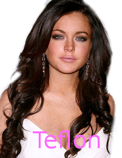Teflon Li-Lo? - If anyone did half of what Lindsay Lohan had done to offend the legal system of California they would be cooling their heels either in jail or a prison cell.