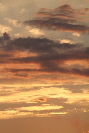 Sunset clouds - Clouds at sunset