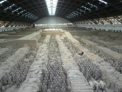 More Soldiers - There are more Terracotta soldiers still covered and that not be uncovered! Truly amazing find!