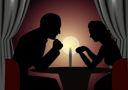 Candle light Dinner - A beautiful moment of night is a candle light dinner with our loved ones!
