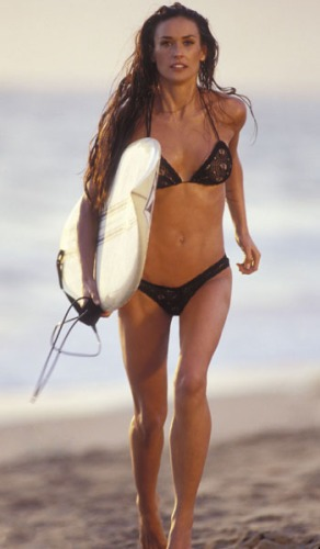Demi Moore - Demi Moore in a bikini from the last Charlie's Angels movie.