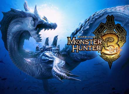 MHTri - Monster Hunter Tri is the best online experience to be had on Wii