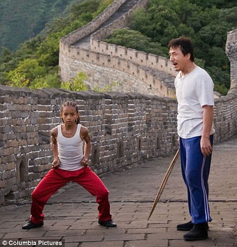 Karate Kid - This one stared Jackie Chan and Jaden Smith.