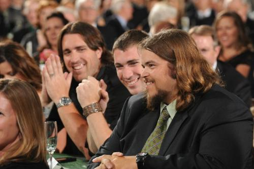 Mark Tauscher - The Green Bay Packers right tackle at their Super Bowl Ring ceremony on 6/16/11.