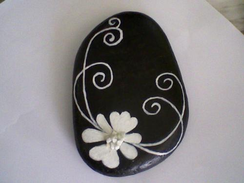 Art Stone - Custom draw art on stone - names, numbers, wording or just design.