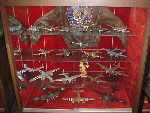WWII model airplanes - downloaded from the internet