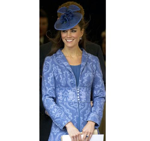 Kate Middleton - She was recently wearing this outfit. I like the dress but not a fan of that hat!
