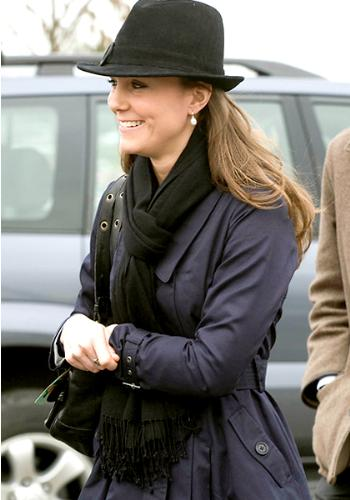 Kate - Kate looks great in the jacket and the fedora fits the outfit!