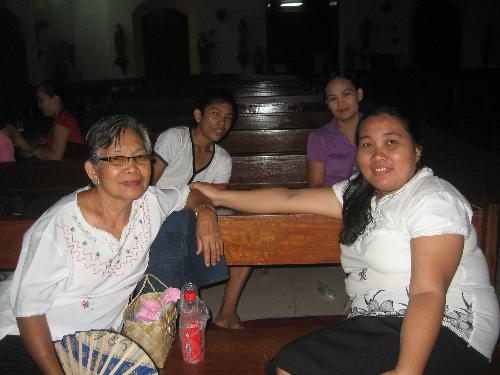 church prayer meeting - at church