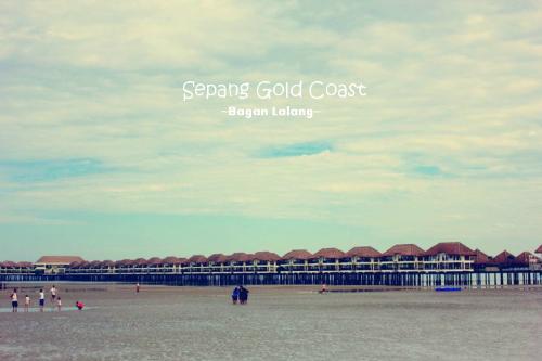 Sepang Gold Coast Beach - I love so much towards seaside~