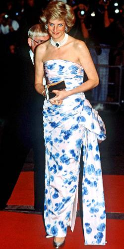 Princess Diana - The Princess is one of her many fabulous dresses she wore!