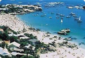 Clifton 4th Beach, Cape Town - This is a photograph of Clifton 4th Beach, in Cape Town South africa. It's one of the most beautiful beaches in the country and a great place to laze away the hot summer days.
